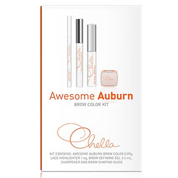Chella Eyebrow Color Kit - Awesome Auburn | Camera Ready Cosmetics - 2