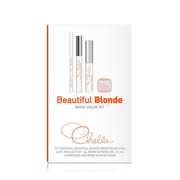Chella Eyebrow Color Kit - Beautiful Blonde | Camera Ready Cosmetics - 3