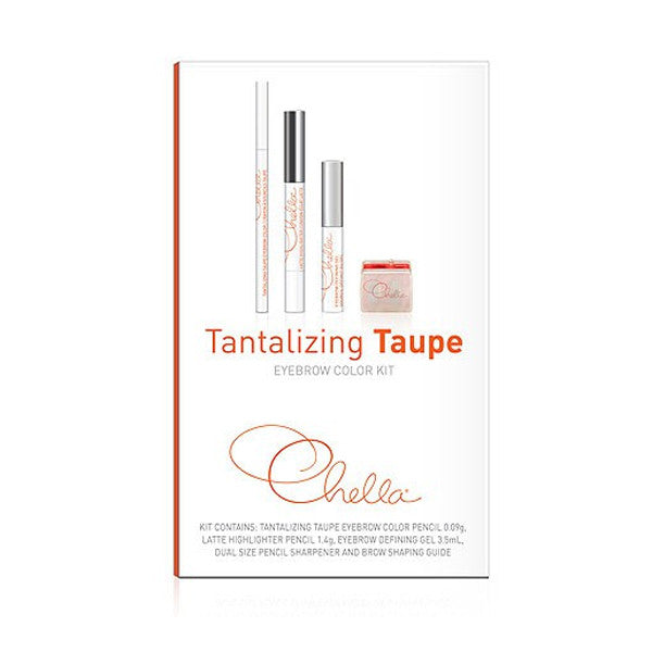 Chella Eyebrow Color Kit - Tantalizing Taupe | Camera Ready Cosmetics - 6