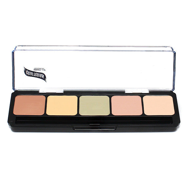 Graftobian Hi-Def Glamour Creme Corrector Palette -  | Camera Ready Cosmetics - 6