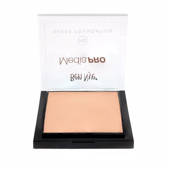alt Ben Nye MediaPRO HD Sheer Foundation Bare Peach (HD-814) (Limited Availability)