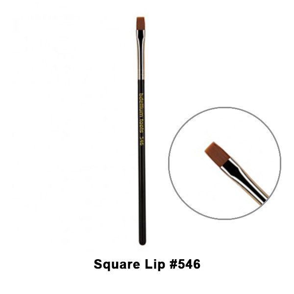 Bdellium Tools Maestro Series Brushes for Face - 546 Square Lip | Camera Ready Cosmetics - 3