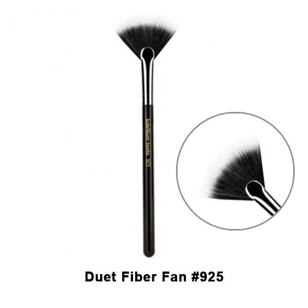 Bdellium Tools Maestro Series Brushes for Face - 925 Duet Fiber Fan | Camera Ready Cosmetics - 4