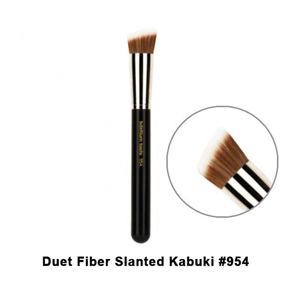 Bdellium Tools Maestro Series Brushes for Face - 954 Duet Fiber Slanted Kabuki | Camera Ready Cosmetics - 18