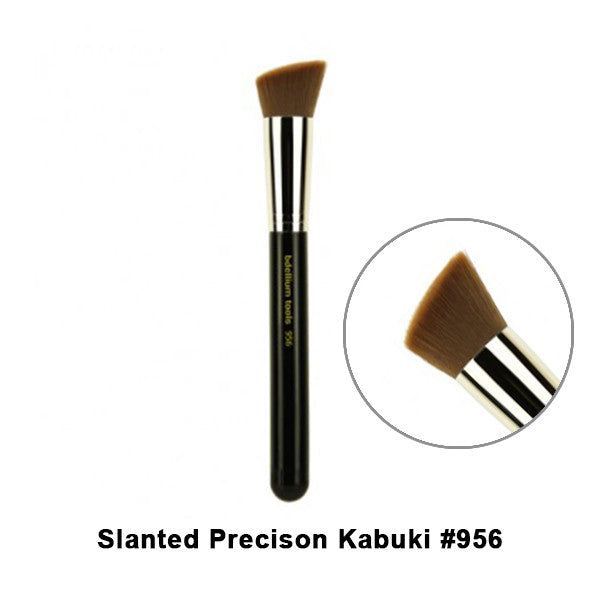 Bdellium Tools Maestro Series Brushes for Face - 956 Slanted Precision Kabuki | Camera Ready Cosmetics - 20