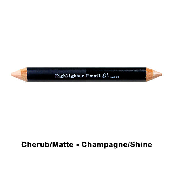 The BrowGal Highlighter Pencil - 01 Cherub/Matte - Champagne/Shine | Camera Ready Cosmetics - 2