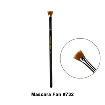 Bdellium Tools Maestro Series Brushes for Eyes - 732 Mascara Fan | Camera Ready Cosmetics - 4