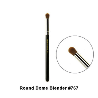 alt Bdellium Tools Maestro Series Brushes for Eyes 767 Round Dome Blender (Maestro Eyes)