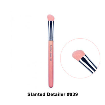 Bdellium Tools Pink Bambu Brushes for Face - 939 Slanted Detailer | Camera Ready Cosmetics - 8