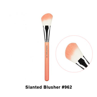 Bdellium Tools Pink Bambu Brushes for Face - 962 Slanted Blusher | Camera Ready Cosmetics - 24