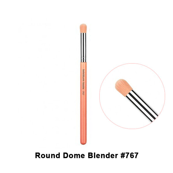 Bdellium Tools Pink Bambu Brushes for Eyes - 767 Round Dome Blender | Camera Ready Cosmetics - 15