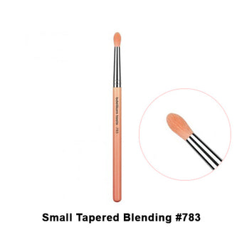 alt Bdellium Tools Pink Bambu Brushes for Eyes 783 SmallTapered Blending (Pink)