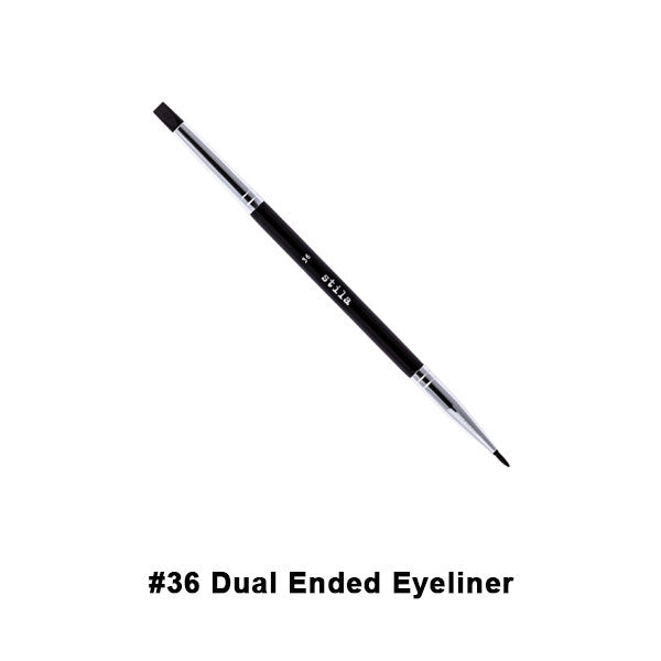 Stila Brushes - #36 Dual-Ended Eye Liner Applicator | Camera Ready Cosmetics - 23