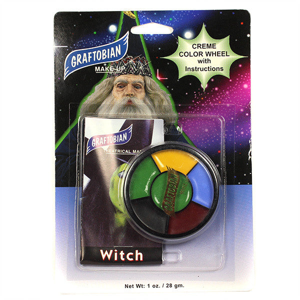 Graftobian 5 Creme Color Wheel w/ Instructions - Witch -  | Camera Ready Cosmetics