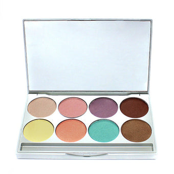 Graftobian HD Mineral Eye Shadow Palette -  | Camera Ready Cosmetics - 1