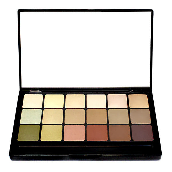 Graftobian HD Creme Global Corrector Super Palette -  | Camera Ready Cosmetics - 1