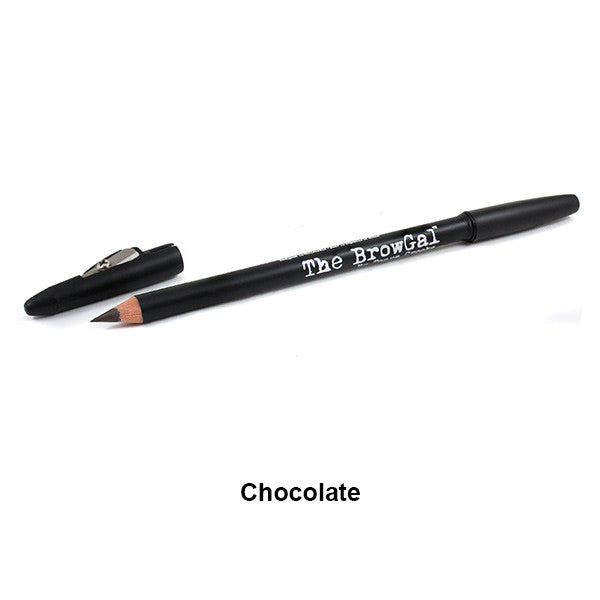 The BrowGal Skinny Eyebrow Pencil - Chocolate 03 | Camera Ready Cosmetics - 4