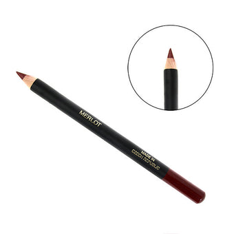 alt Camera Ready Slim Lip Pencil Merlot - CRC Slim Lip