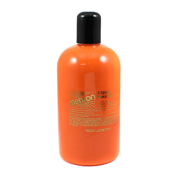 Mehron Liquid Makeup for Face, Body and Hair - 16oz / Glow Yellow | Camera Ready Cosmetics - 37