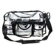 Just Case Large Clear Make Up Bag - PC01BK -  | Camera Ready Cosmetics - 1