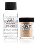 Mehron Metallic Powder with Mixing Liquid (USA ONLY)  | Camera Ready Cosmetics