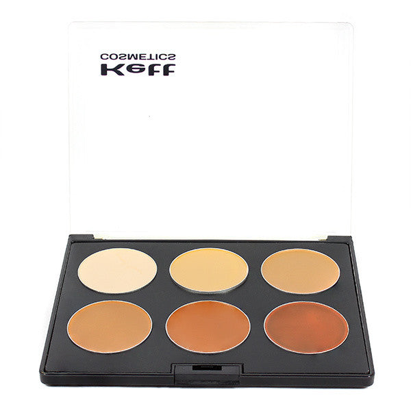 Kett Fixx Creme Pro Palette, Neutral Series -  | Camera Ready Cosmetics