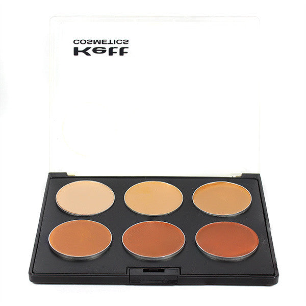 Kett Fixx Creme Palette, Ruby Series -  | Camera Ready Cosmetics