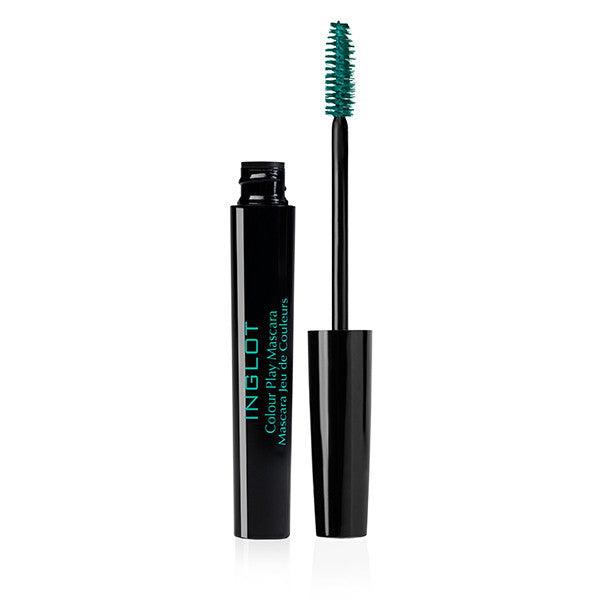 Inglot Colour Play Mascara - 02 Green | Camera Ready Cosmetics - 4
