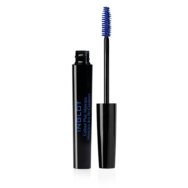 Inglot Colour Play Mascara - 03 Blue | Camera Ready Cosmetics - 5