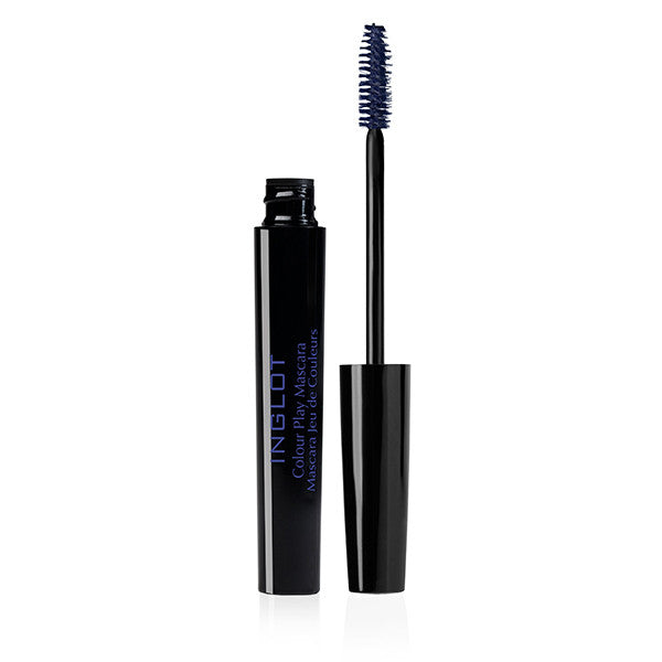 Inglot Colour Play Mascara - 05 Navy Blue | Camera Ready Cosmetics - 7