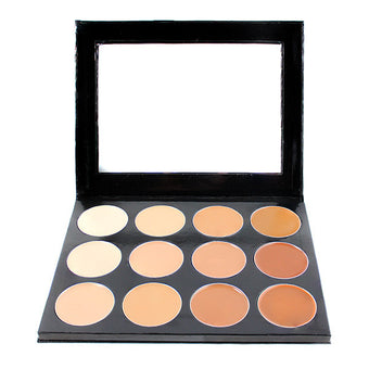 alt Mehron Celebre Pro-HD 12-Color Cream Highlight/Contour Palette