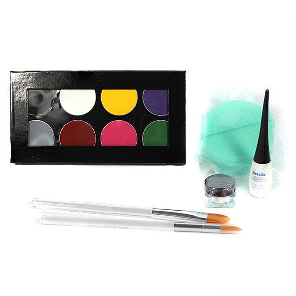 Mehron Face Painting Premium Makeup Kit -  | Camera Ready Cosmetics - 1