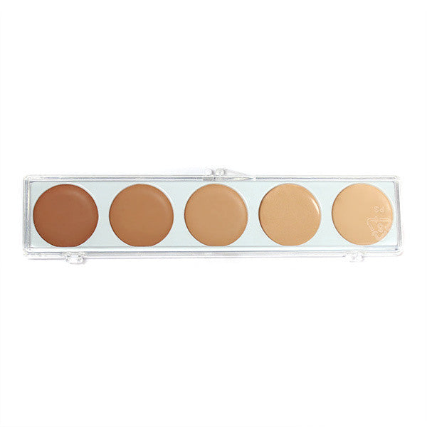 Mehron Mask Cover Makeup - Olive Series Palette -  | Camera Ready Cosmetics