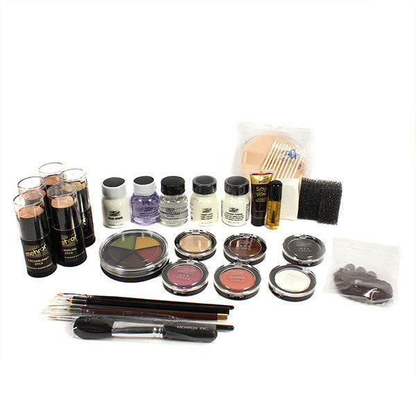 Mehron All-Pro Makeup Kit (USA Only) - Cake - TV/Video (K110-TV) | Camera Ready Cosmetics - 6
