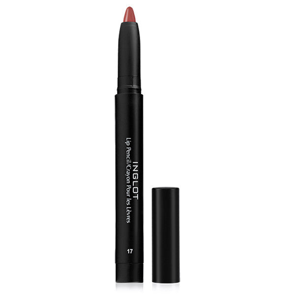 Inglot AMC Lip Pencil Matte with Sharpener - 17 AMC | Camera Ready Cosmetics - 7