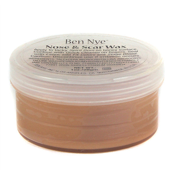 Ben Nye Nose & Scar Wax - Fair 1oz (NW-1) | Camera Ready Cosmetics - 7