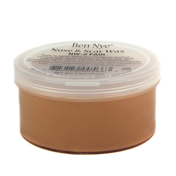 Ben Nye Nose & Scar Wax - Fair 2.5oz (NW-2) | Camera Ready Cosmetics - 8