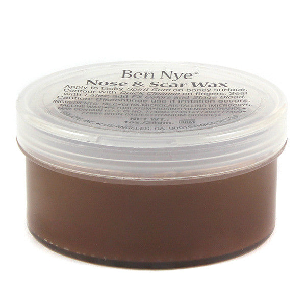 Ben Nye Nose & Scar Wax - Brown 1oz (BW-1) | Camera Ready Cosmetics - 2