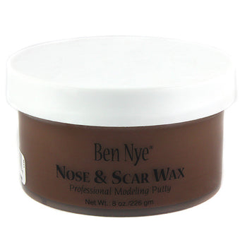 Ben Nye Nose & Scar Wax - Brown 8oz (BW-3) | Camera Ready Cosmetics - 5
