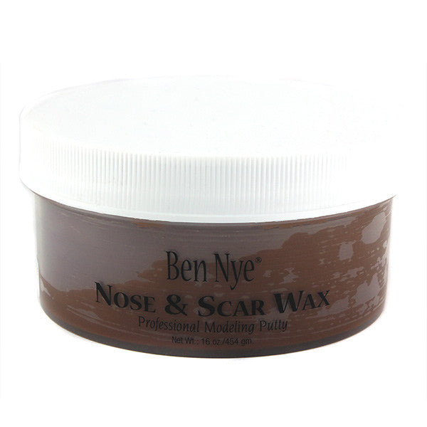 Ben Nye Nose & Scar Wax - Brown 16oz (BW-4) | Camera Ready Cosmetics - 6