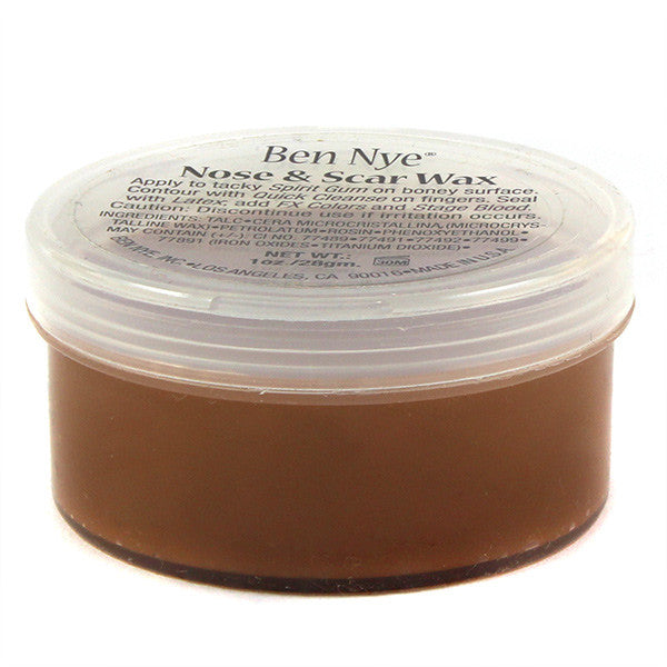 Ben Nye Nose & Scar Wax - Light Brown 1oz (LBW-1) | Camera Ready Cosmetics - 11