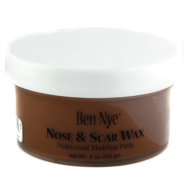Ben Nye Nose & Scar Wax - Light Brown 8oz (LBW-3) | Camera Ready Cosmetics - 13