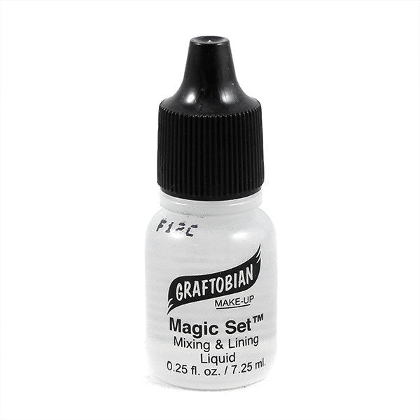 Graftobian Magic Set Mixing and Lining Liquid - 1/4oz Bottle with Dropper (88691) | Camera Ready Cosmetics - 2