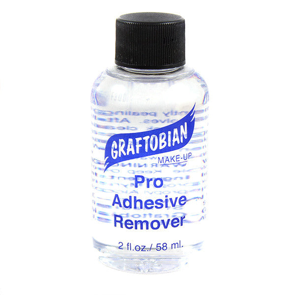Graftobian Pro Adhesive Remover (USA Only) - 2 oz. (88521) | Camera Ready Cosmetics - 2