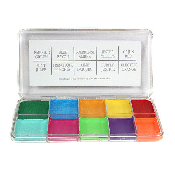PPI Skin Illustrator - Mardi Gras Palette -  | Camera Ready Cosmetics - 1