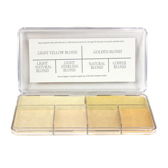 PPI Hair Illustrator - Warm Blond Palette -  | Camera Ready Cosmetics - 1