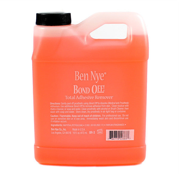 Ben Nye Bond Off (USA Only) - 16.0 oz (BR-3) | Camera Ready Cosmetics - 7