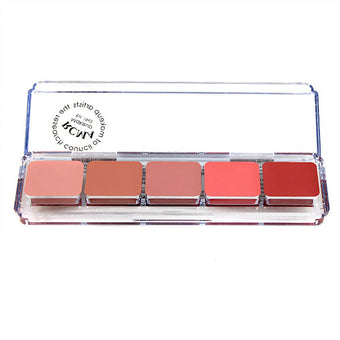 RCMA 5 Part Series Cream Blush Palette -  | Camera Ready Cosmetics - 1