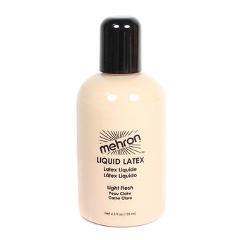Mehron Latex Liquid - 4.5 oz. / Light Flesh | Camera Ready Cosmetics - 6