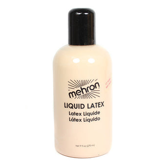 Mehron Latex Liquid - 9 oz. / Light Flesh | Camera Ready Cosmetics - 9